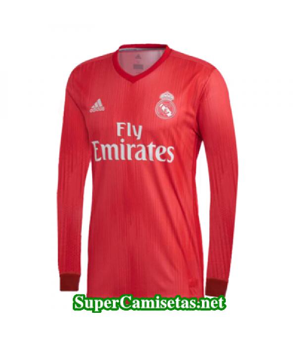 Tercera Equipacion Camiseta Real Madrid Manga Larga 2018/19