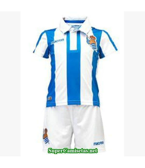 Primera Equipacion Camiseta Real Sociedad Ninos 2018/19