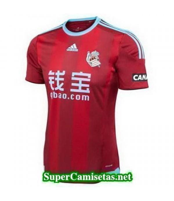 Segunda Equipacion Camiseta Real Sociedad 2015/16