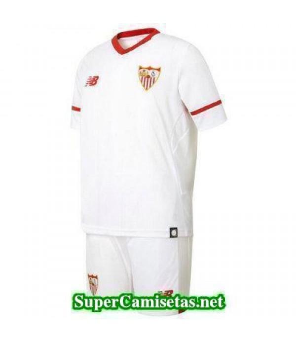 Primera Equipacion Camiseta Sevilla Ninos 2017/18