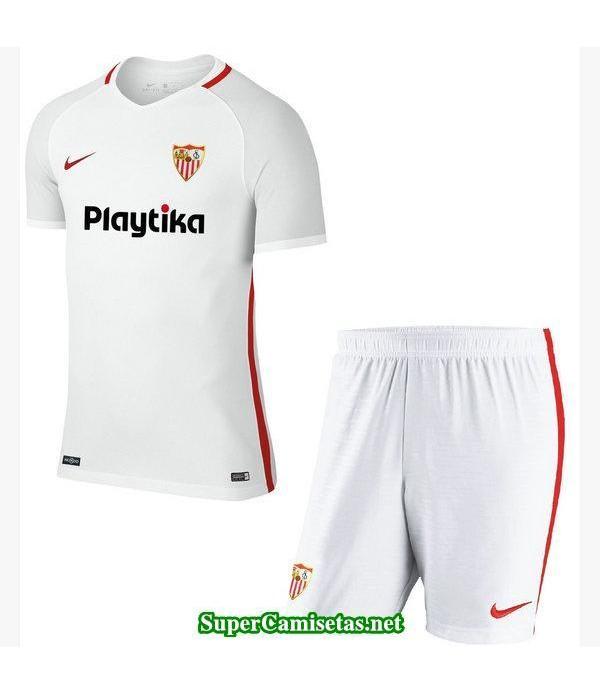 Primera Equipacion Camiseta Sevilla Ninos 2018/19
