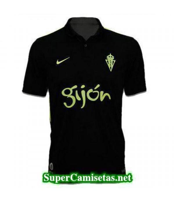 Tailandia Segunda Equipacion Camiseta Sporting Gijon 2016/17