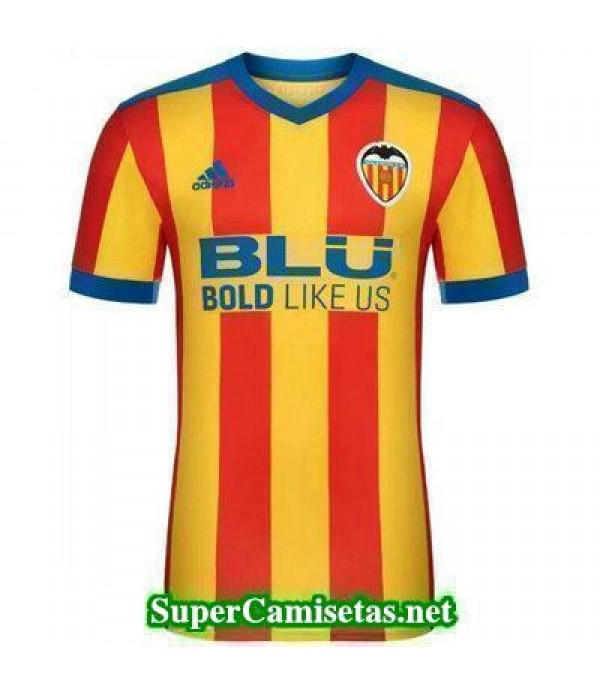 Segunda Equipacion Camiseta Valencia 2017/18