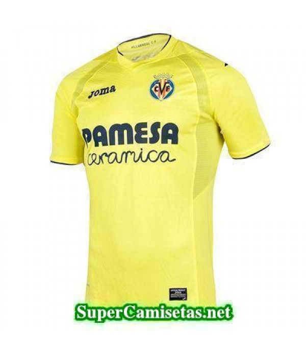 Tailandia Primera Equipacion Camiseta Villarreal 2016/17