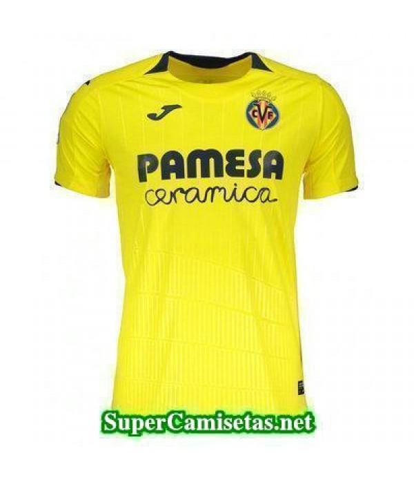 Tailandia Primera Equipacion Camiseta Villarreal 2018/19