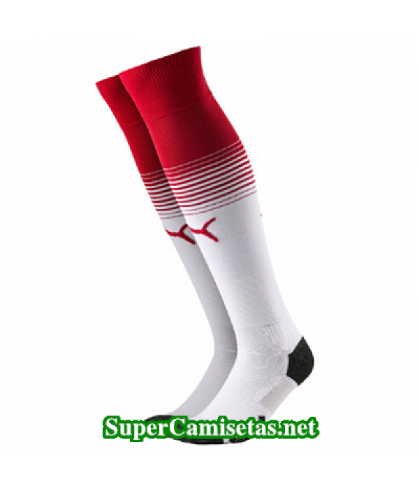 Calcetines Arsenal baratas Blanco 2017 2018