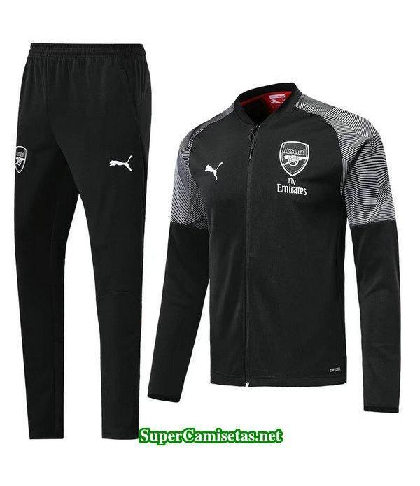 Chaquetas Arsenal Negro-01 2018 2019 baratas