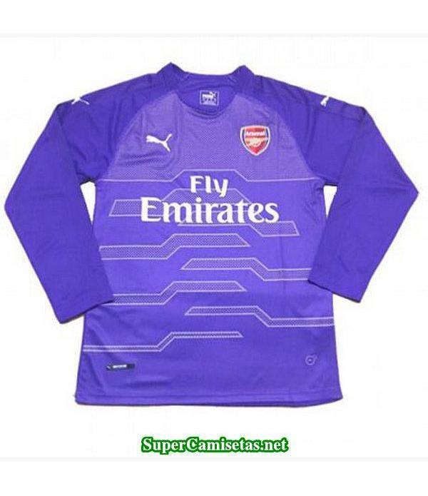 Portero Equipacion Camiseta Arsenal Manga Larga 2018/19