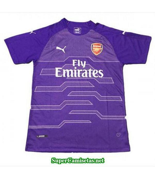 Portero Equipacion Camiseta Arsenal purpura 2018/19
