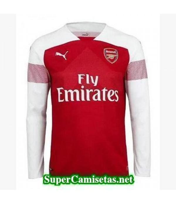 Primera Equipacion Camiseta Arsenal Manga Larga 2018/19