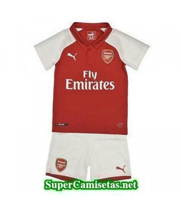 Primera Equipacion Camiseta Arsenal Ninos 2017/18