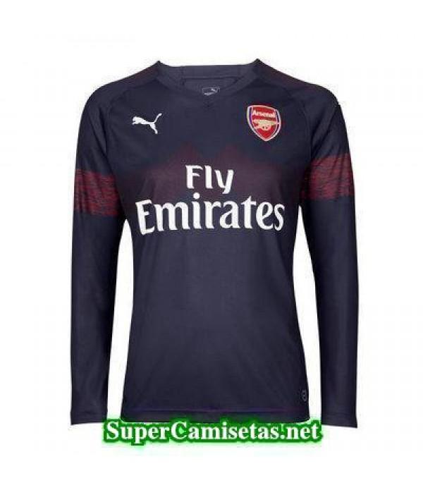 Segunda Equipacion Camiseta Arsenal Manga Larga 2018/19