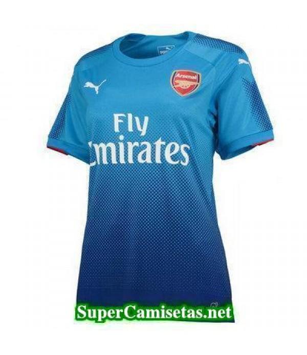 Segunda Equipacion Camiseta Arsenal Mujer 2017/18
