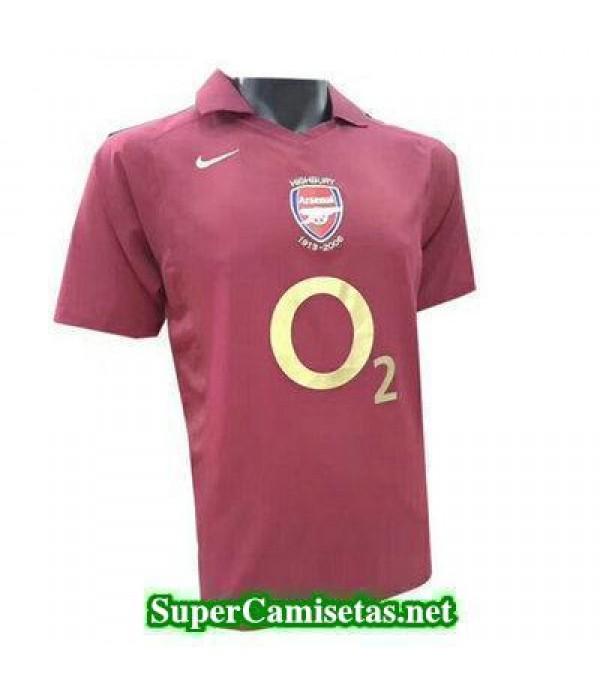 Tailandia Camiseta Arsenal clasicas 2005-2006