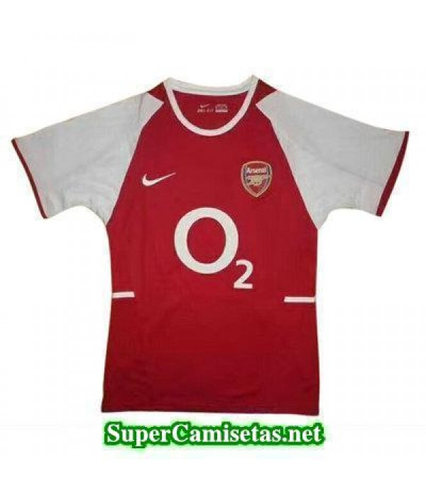 Tailandia Camiseta Arsenal retro 2017/18