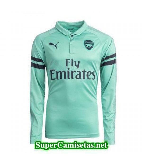 0451c9c99c0be Tercera Equipacion Camiseta Arsenal Manga Larga 2018-2019 ...