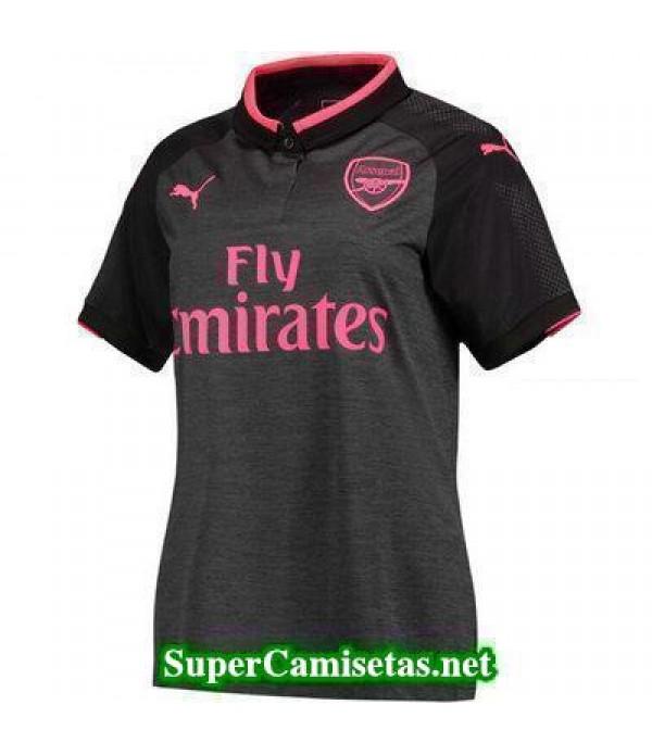 Tercera Equipacion Camiseta Arsenal Mujer 2017/18