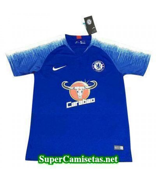 camiseta entrenamiento Chelsea Azul-01 2018 2019