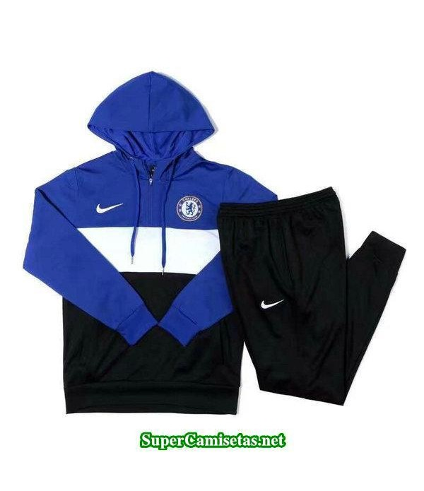Camiseta entrenamiento Chelsea ML Azul-01 2018 201...