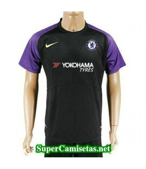 Portero Equipacion Camiseta Chelsea negro 2017/18
