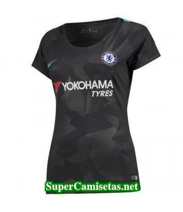 Tercera Equipacion Camiseta Chelsea Mujer 2017/18