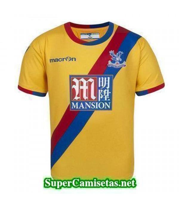 Segunda Equipacion Camiseta Crystal Palace 2016/17