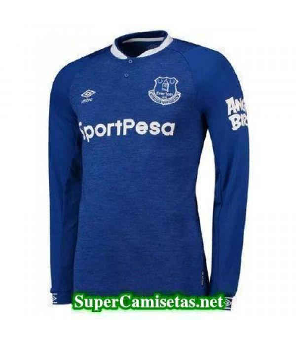 Primera Equipacion Camiseta Everton Manga Larga 2018/19