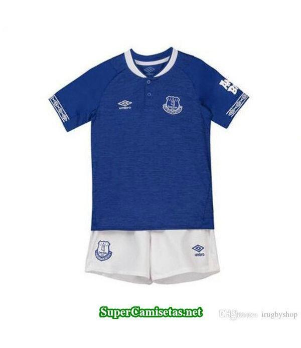 Primera Equipacion Camiseta Everton Ninos 2018/19