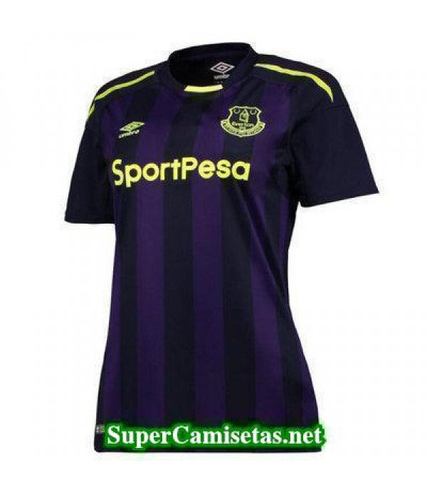 Tercera Equipacion Camiseta Everton Mujer 2017/18