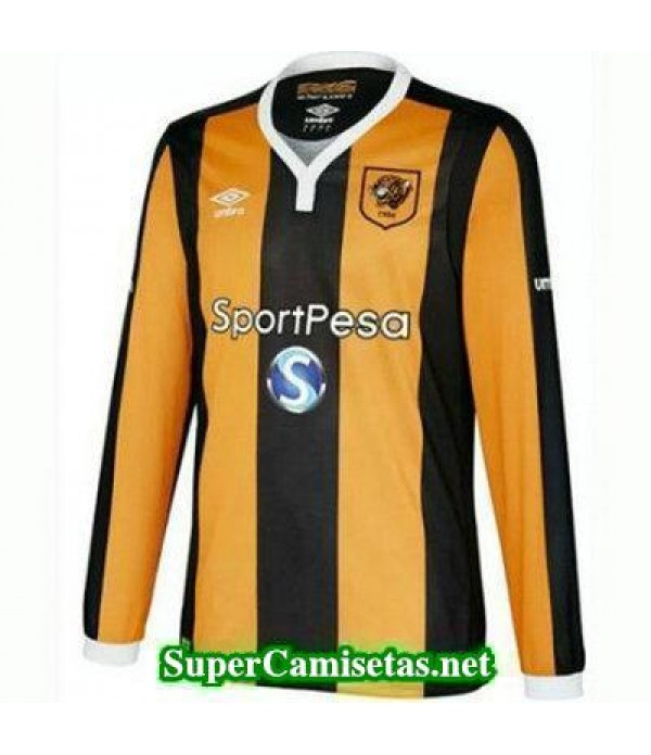 Primera Equipacion Camiseta Hull City Manga Larga 2016/17