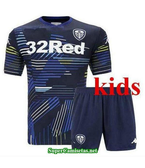 Segunda Equipacion Camiseta Leeds United Ninos 2018/19