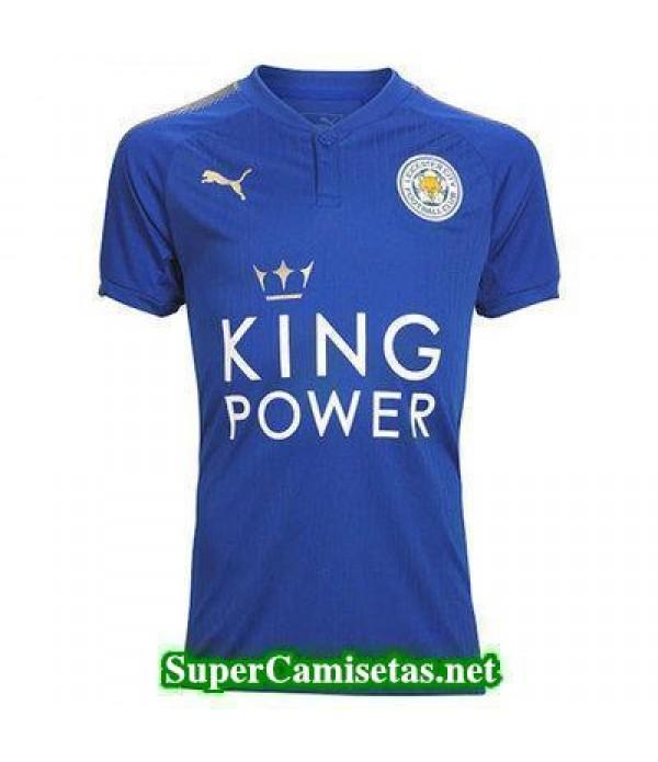 Primera Equipacion Camiseta Leicester City 2017/18