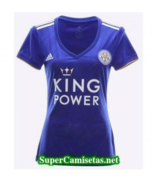 Primera Equipacion Camiseta Leicester City Mujer 2018/19