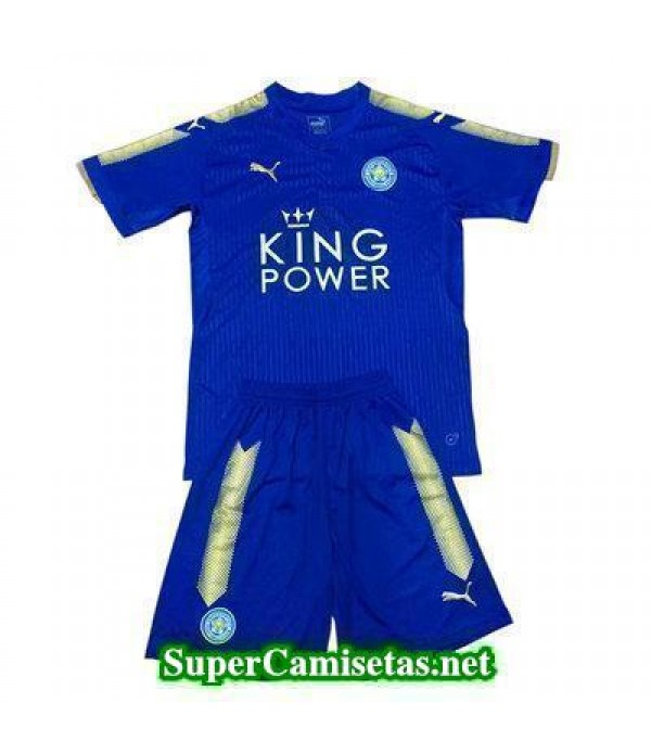 Primera Equipacion Camiseta Leicester City Ninos 2017/18