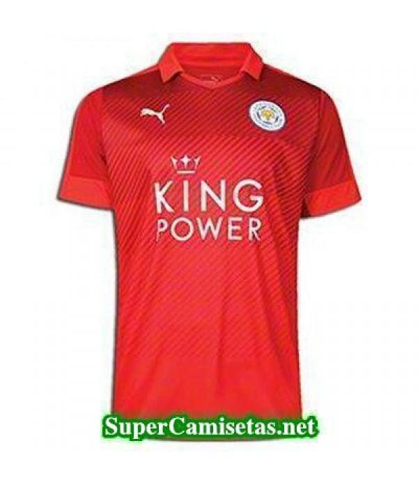 Segunda Equipacion Camiseta Leicester City 2016/17