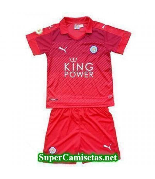 Segunda Equipacion Camiseta Leicester City Ninos 2016/17