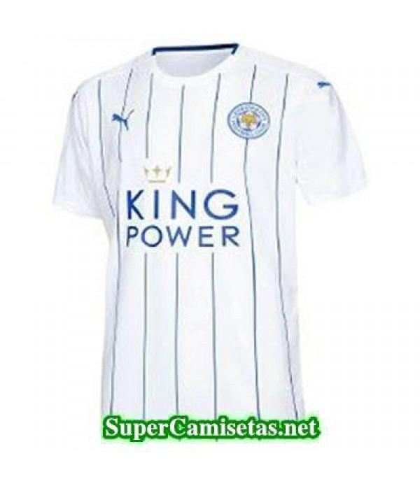 Tercera Equipacion Camiseta Leicester City 2016/17