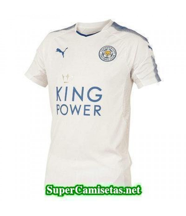 Tercera Equipacion Camiseta Leicester City 2017/18