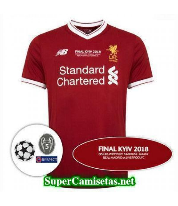 Camiseta Liverpool liga de campeones final 2017 20...