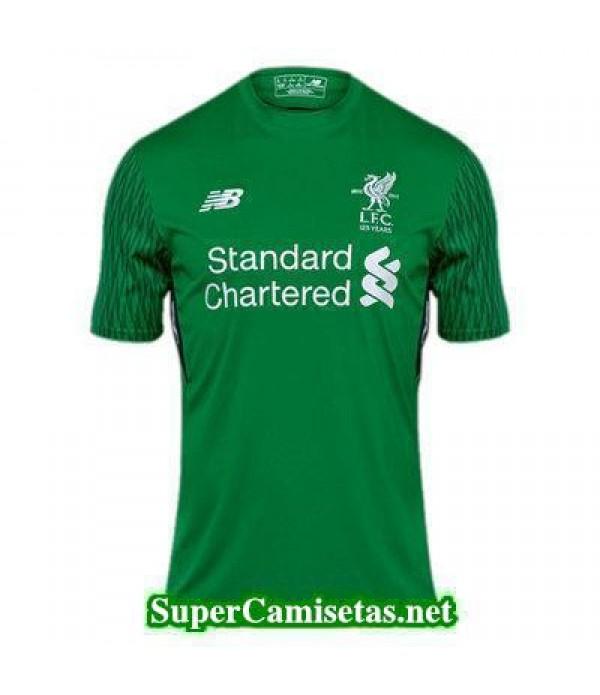 Portero Equipacion Camiseta Liverpool 2017/18