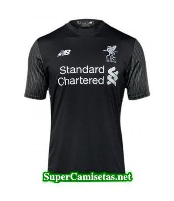 Portero Equipacion Camiseta Liverpool negro 2017/1...