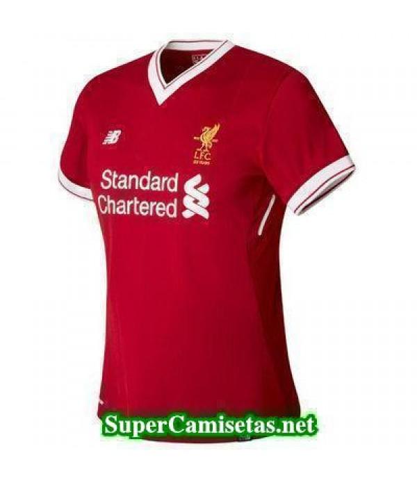 Primera Equipacion Camiseta Liverpool Mujer 2017/1...