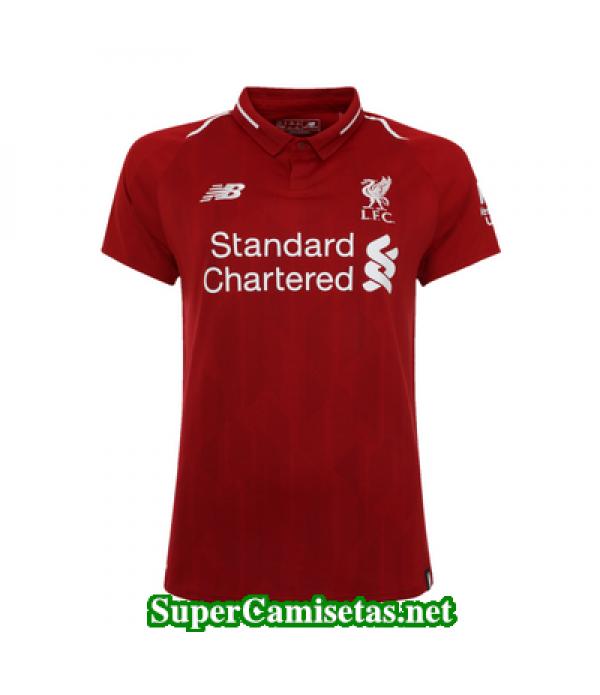 Primera Equipacion Camiseta Liverpool Mujer 2018/19