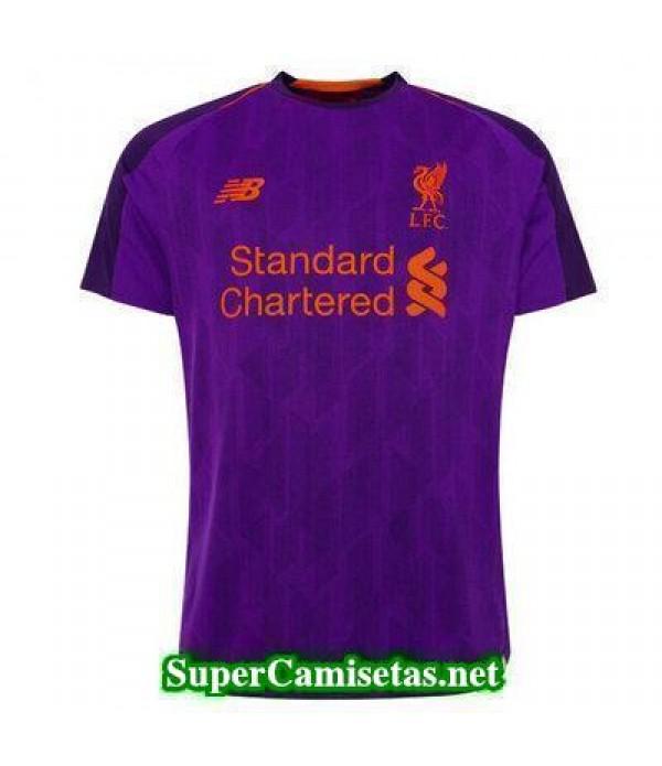 Segunda Equipacion Camiseta Liverpool 2018/19