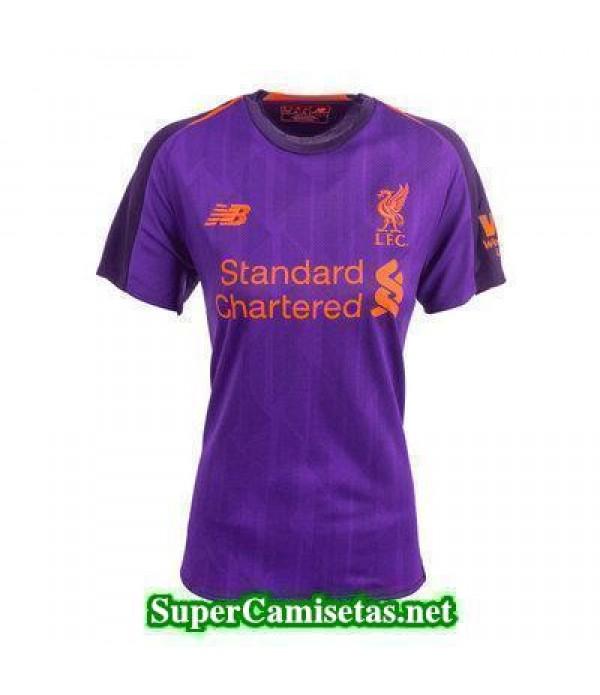 Segunda Equipacion Camiseta Liverpool Mujer 2018/19