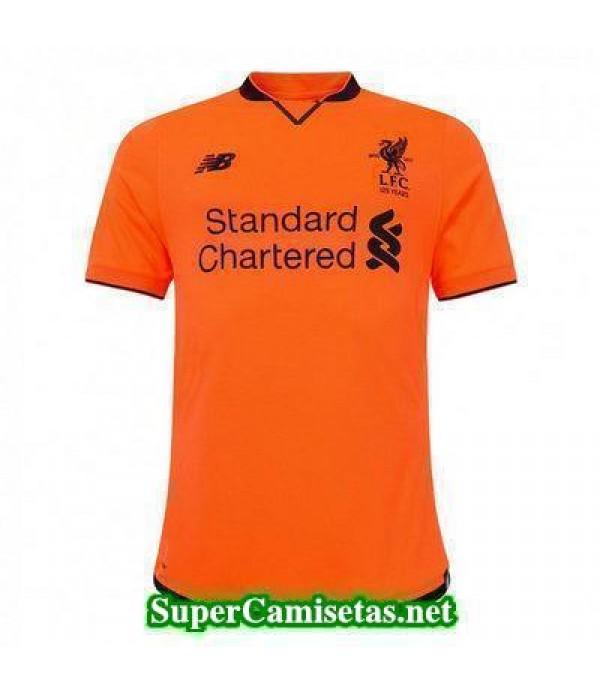 Tercera Equipacion Camiseta Liverpool 2017/18