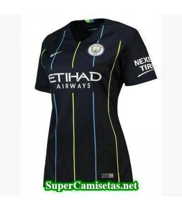Segunda Equipacion Camiseta Manchester City Mujer 2018/19