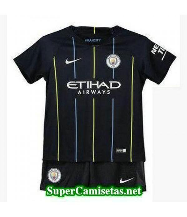 Segunda Equipacion Camiseta Manchester City Ninos 2018/19