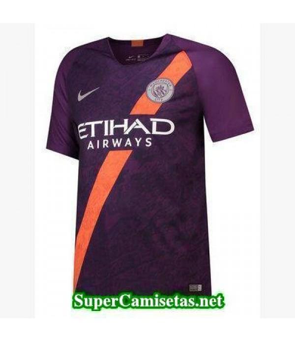 Tercera Equipacion Camiseta Manchester City 2018 2019