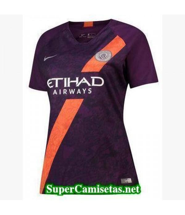 Tercera Equipacion Camiseta Manchester City Mujer 2018/19
